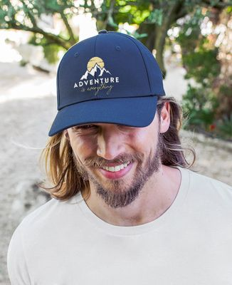 Casquette Adventure is everything (brodé)