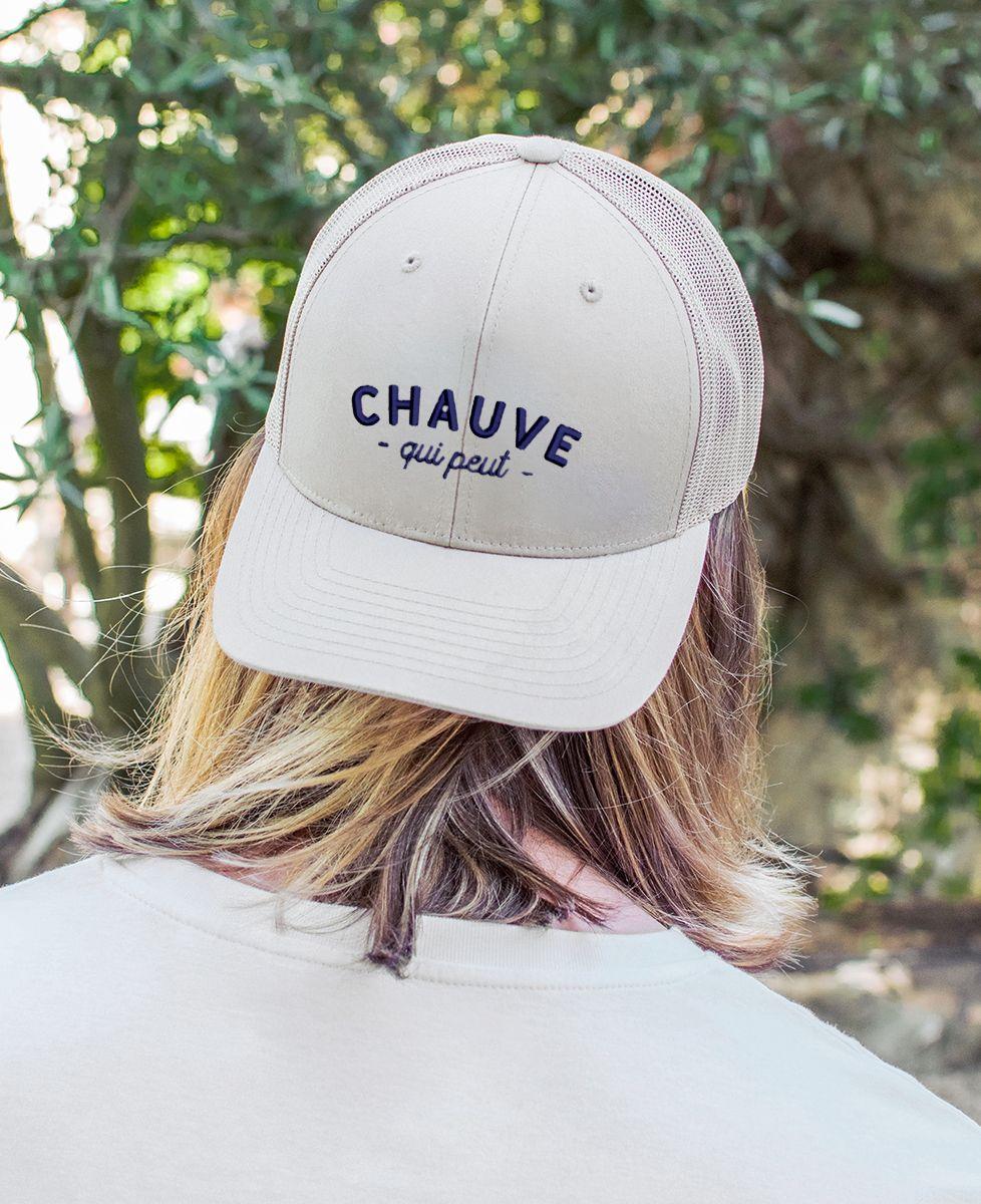 Casquette trucker Chauve qui peut (brodé)
