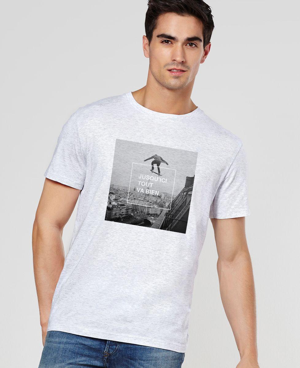 T-Shirt homme Jusqu'ici tout va bien