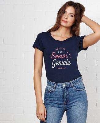 T-Shirt femme Ma soeur a une soeur