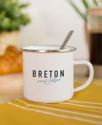 Mug Breton mais sobre