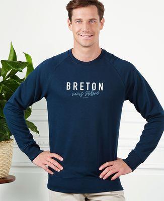 Sweatshirt homme Breton mais sobre