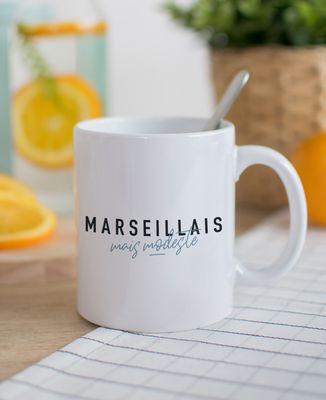 Mug Marseillais mais modeste