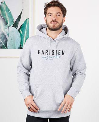 Hoodie homme Parisien mais aimable