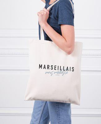Tote bag Marseillais mais modeste