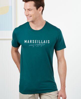 T-Shirt homme Marseillais mais modeste