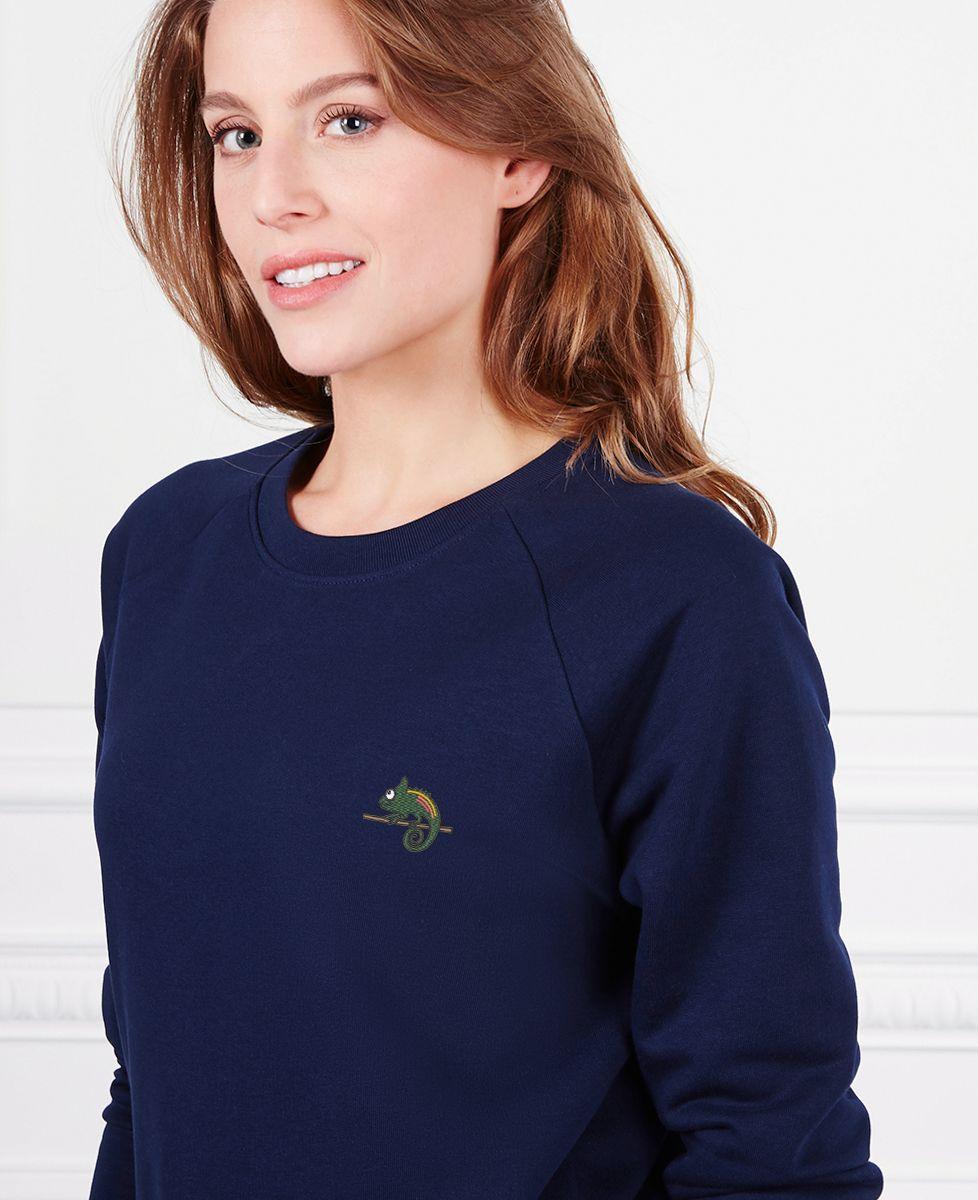 Sweatshirt femme Camélon (brodé)