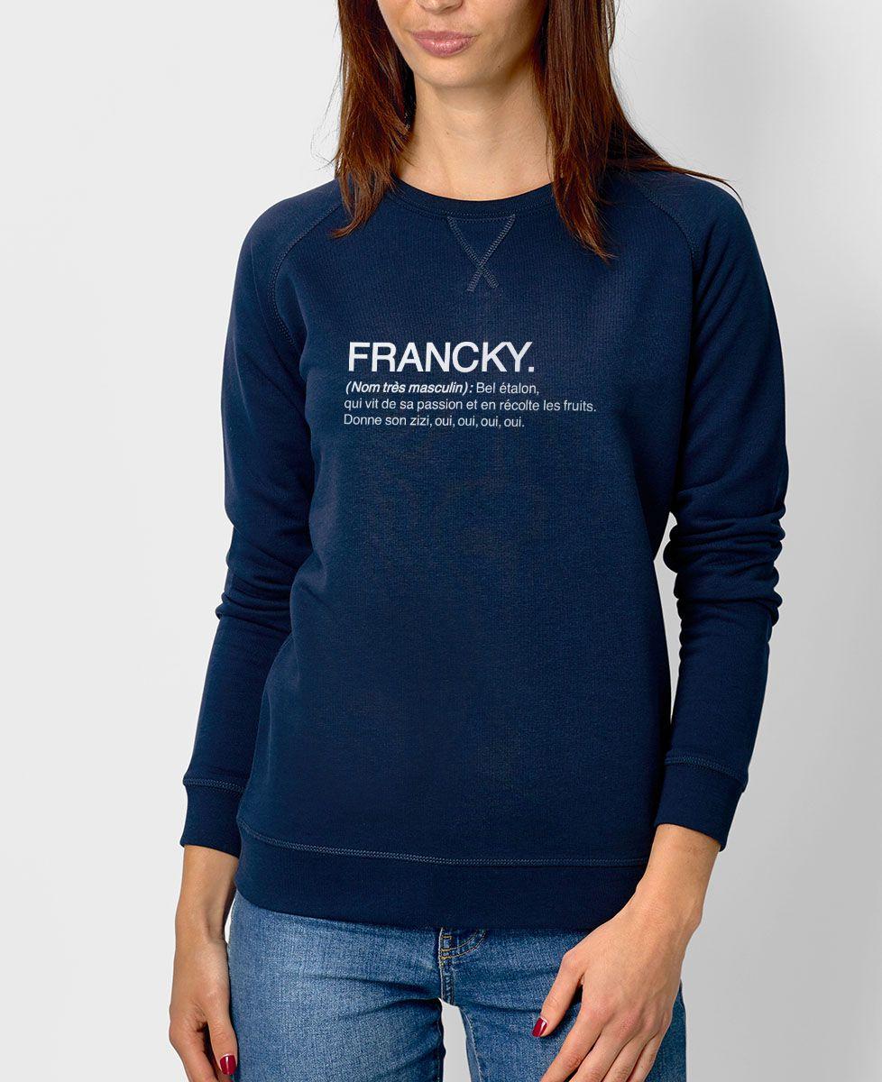 Sweatshirt femme Francky