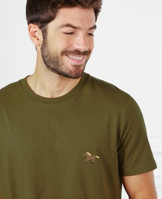 T-Shirt homme Cheval (brodé)
