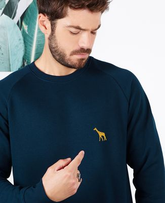 Sweatshirt homme Girafe II (brodé)