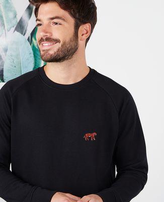 Sweatshirt homme Tigre (brodé)