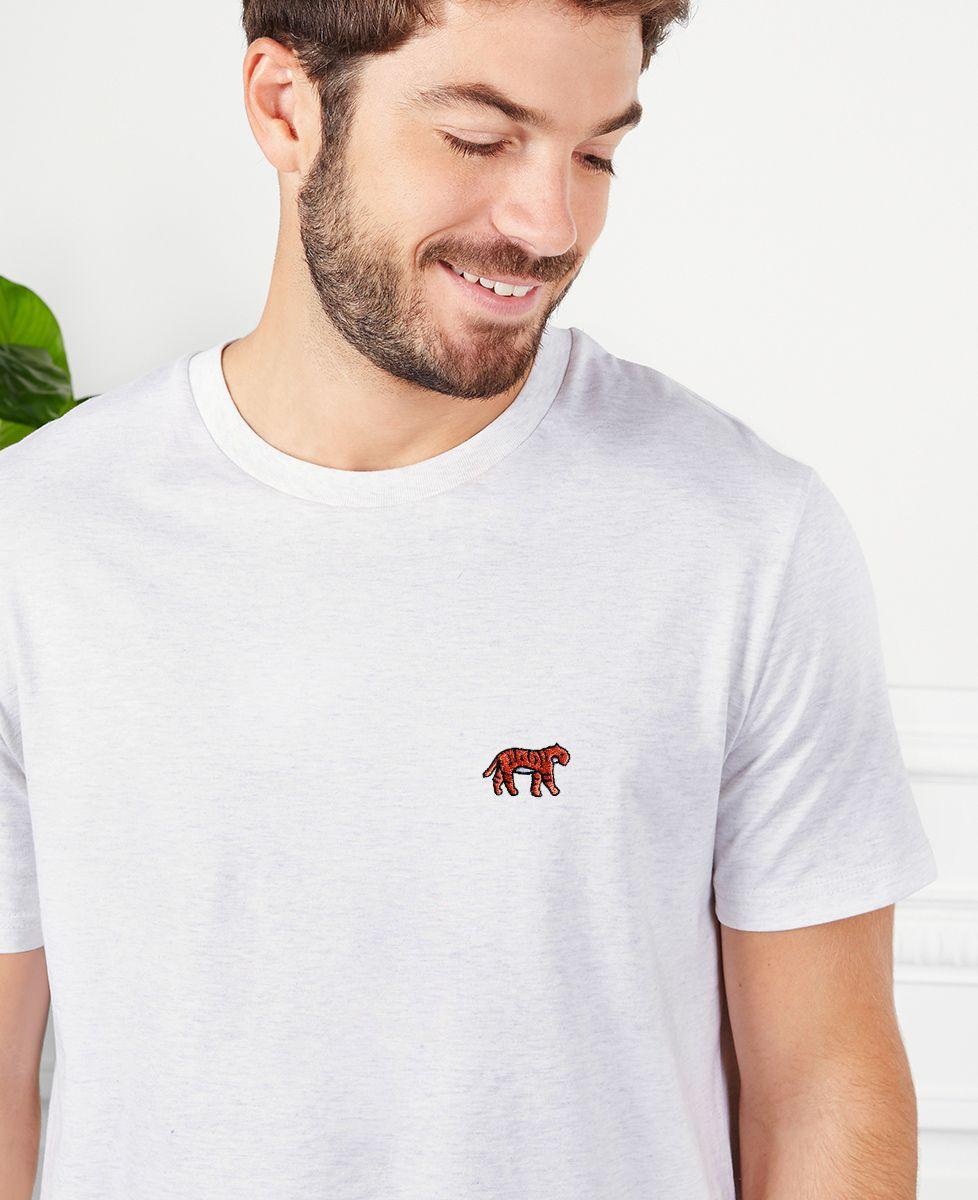 T-Shirt homme Tigre (brodé)