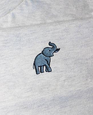Sweatshirt femme Éléphant (brodé)