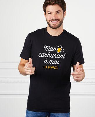 T-Shirt homme Mon carburant à moi