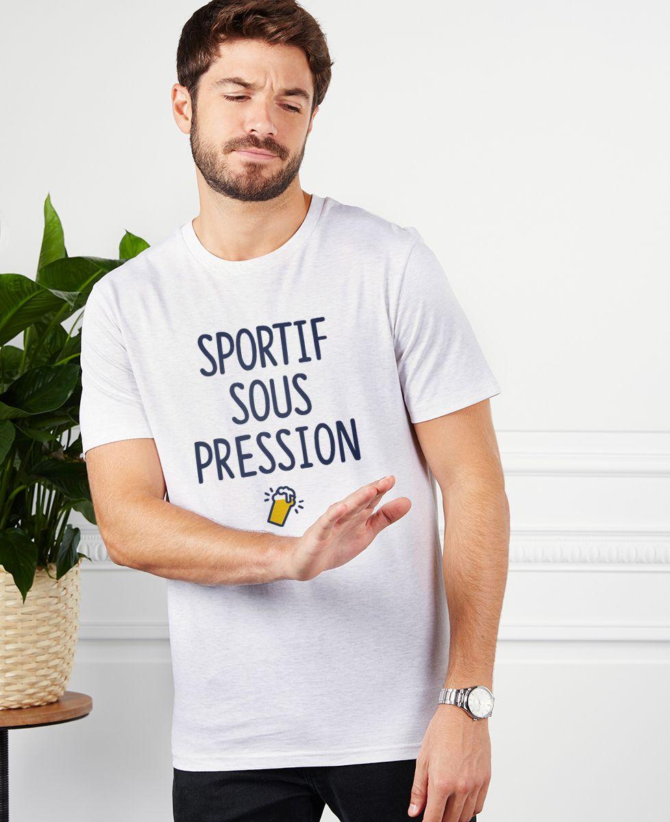 T-Shirt homme Sportif sous pression