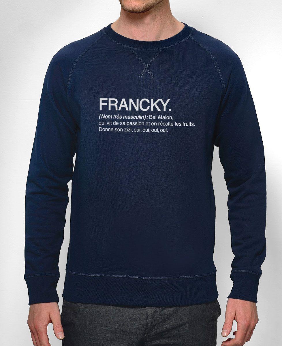 Sweatshirt homme Francky