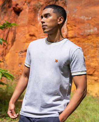 T-shirt homme recyclé Filgood Filgood Renard (brodé)