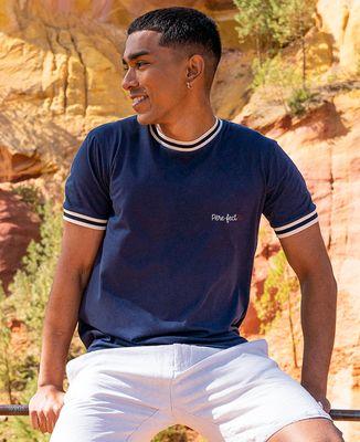 T-shirt homme recyclé Filgood Filgood Père-fect (brodé)