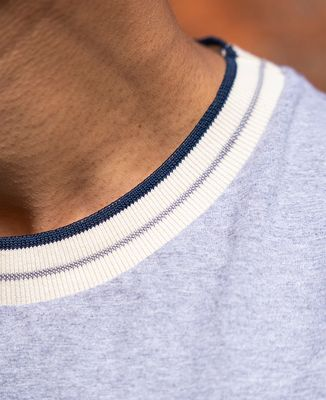 T-shirt homme recyclé Filgood Filgood L'homme idéal cocarde (brodé)