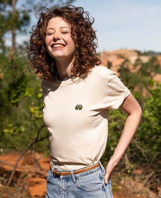 T-shirt femme recyclé Filgood Filgood Pintes de bières (brodé)