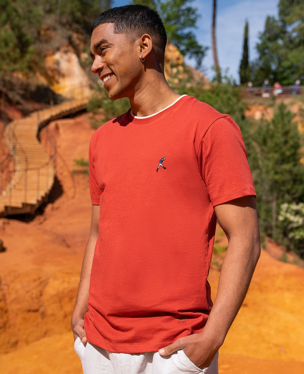 T-shirt homme recyclé Filgood Filgood Zizou 98 (brodé)