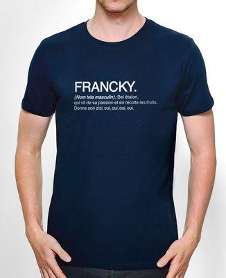 T-Shirt homme Francky