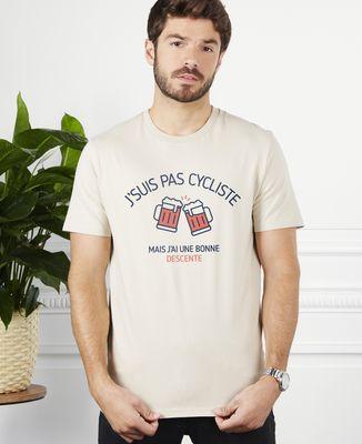 T-Shirt homme J'suis pas cycliste