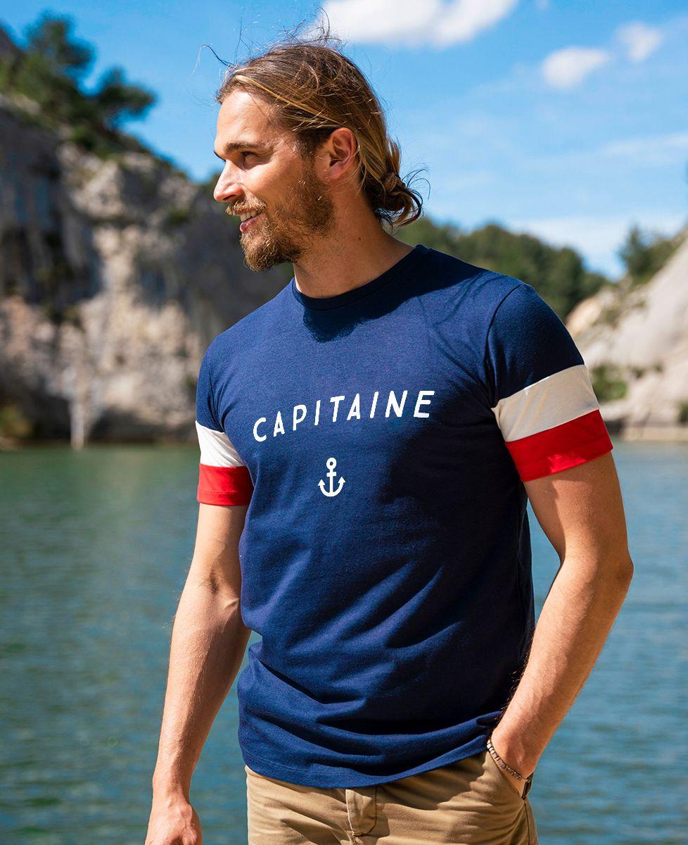 T-shirt homme recyclé Filgood Filgood Capitaine