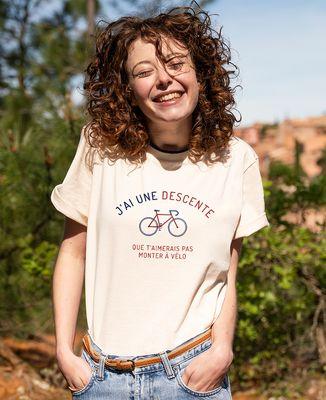 T-shirt femme recyclé Filgood Filgood Descente à vélo