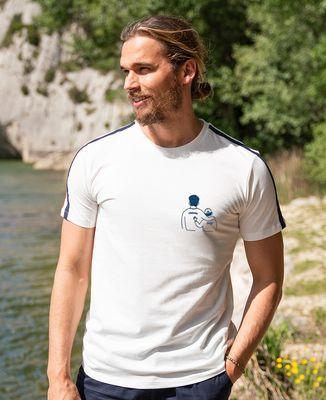 T-shirt homme recyclé Filgood Filgood parent et enfant personnalisé (brodé)