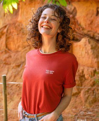 T-shirt femme recyclé Filgood Filgood Telle mère Telle fille (brodé)
