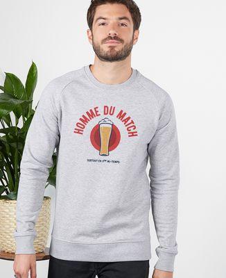 Sweatshirt homme Homme du match