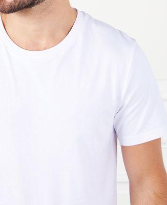 T-Shirt homme Parent et bébé brodé personnalisé