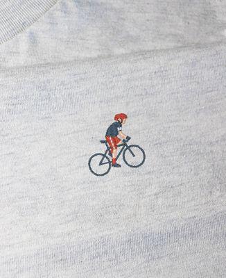 Sweatshirt femme Cycliste (brodé)