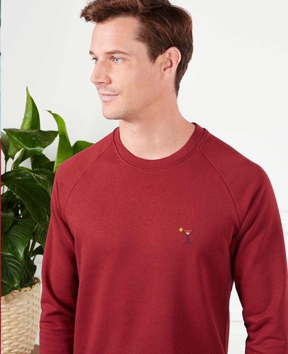 Sweatshirt homme Cosmo (brodé)