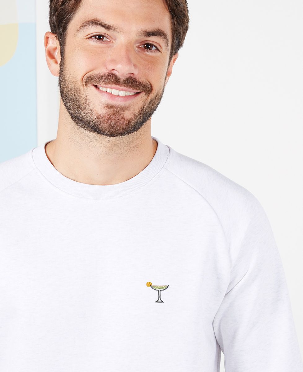 Sweatshirt homme Margarita (brodé)