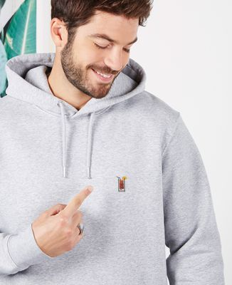 Hoodie homme Tequila sunrise (brodé)