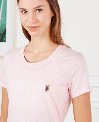 T-Shirt femme Tequila sunrise (brodé)