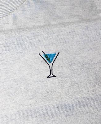 Sweatshirt homme Dry martini (brodé)
