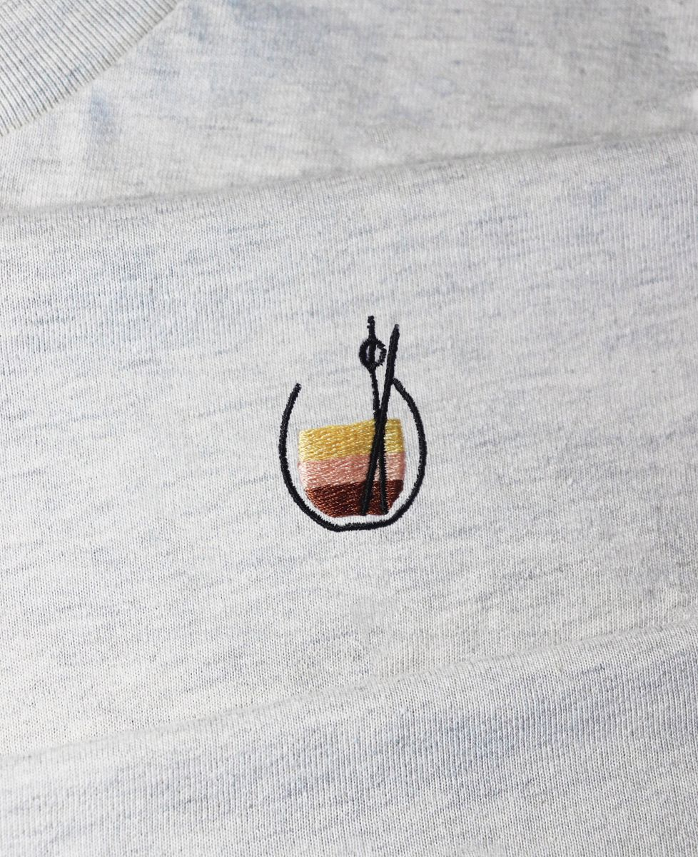 Hoodie homme White russian (brodé)