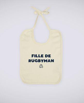 Bavoir Fille de rugbyman