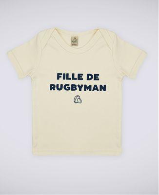 T-Shirt bébé Fille de rugbyman