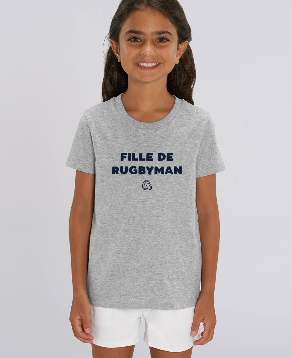 T-Shirt enfant Fille de rugbyman