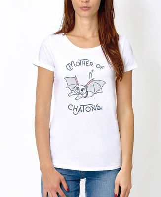 T-Shirt femme Mother of chatons