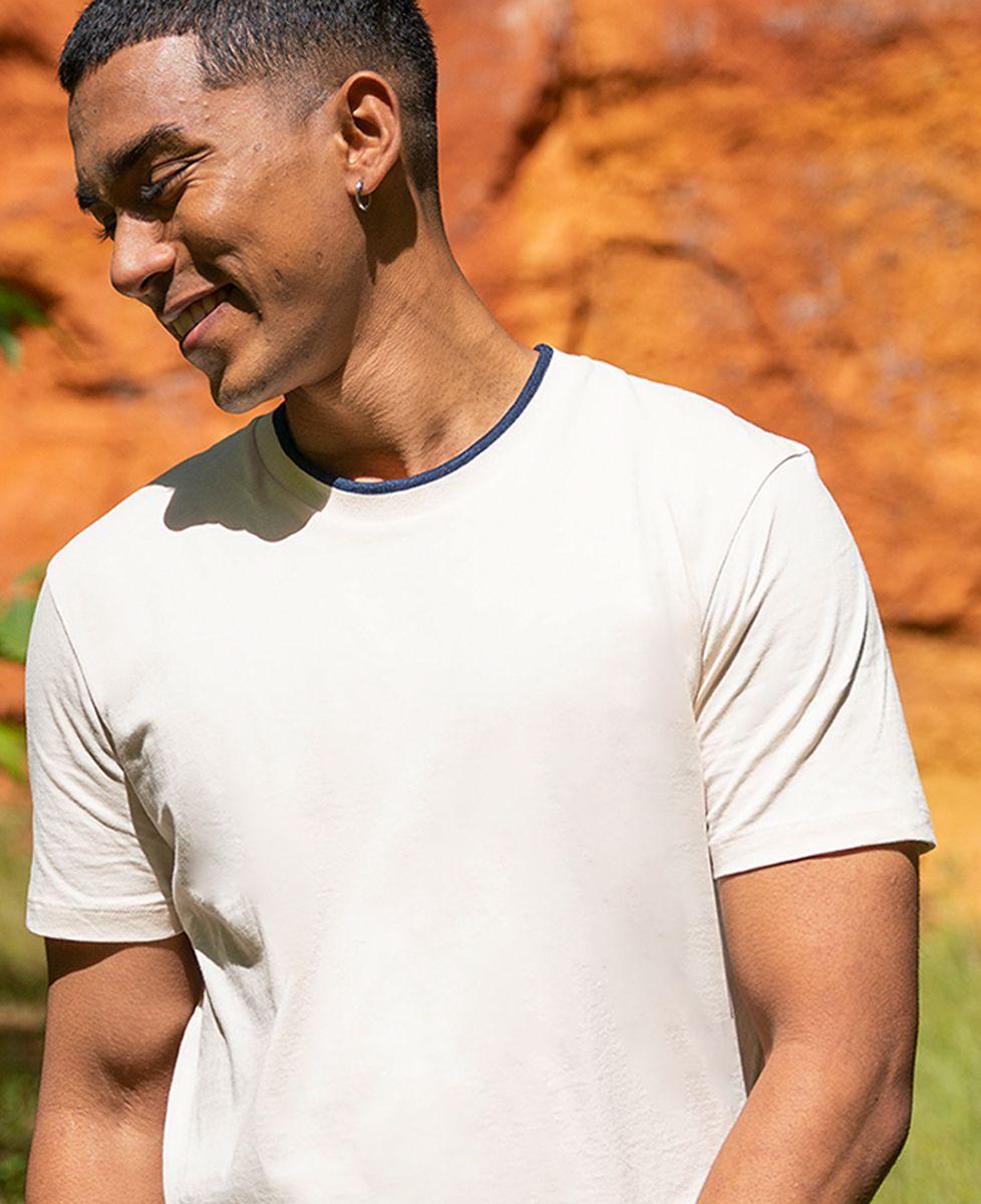 T-shirt homme recyclé Filgood Filgood Couple brodé personnalisé