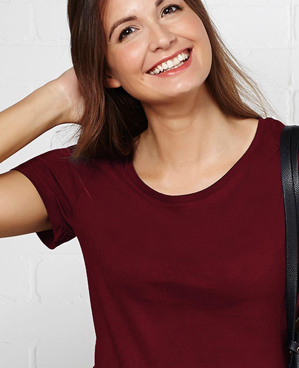 T-Shirt femme Message brodé personnalisé