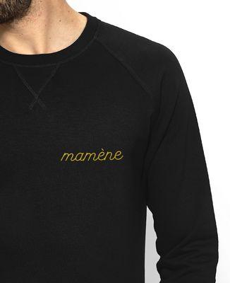 Sweatshirt homme Mamène brodé