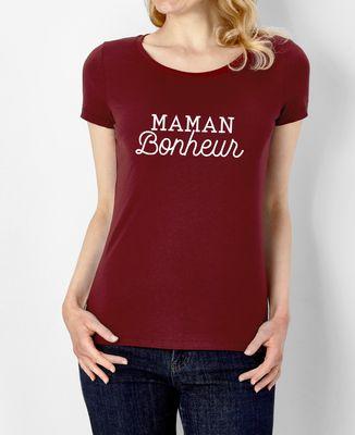 T-Shirt femme Maman bonheur