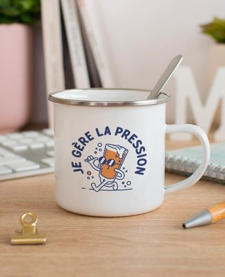 Mug Je gère la pression