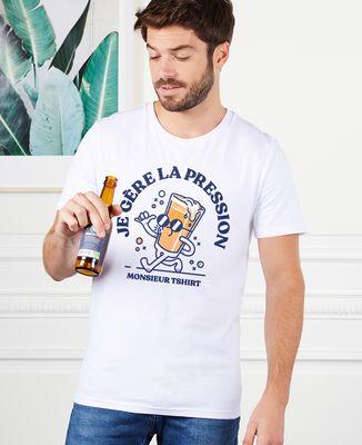 T-Shirt homme Je gère la pression